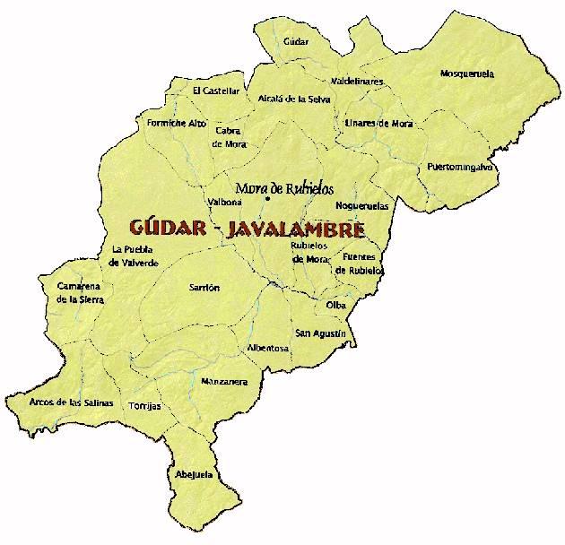 Detail Comarca Gudar-Javalambre