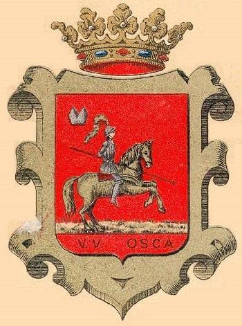 Antic escut de la Província d'Huesca