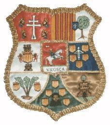 Escut actual de la província d'Huesca