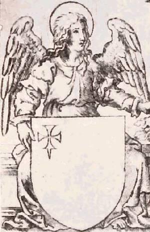 Cruz de Iñigo Arista en Libro de Zurita 1579