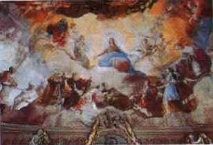 Cupula Reina de los Mártires