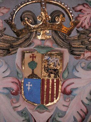 Escudo en Veruela