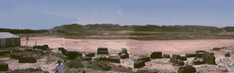 Los Monegros vistos desde Tardienta