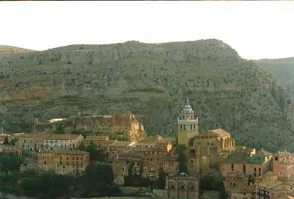 Albarracin vista panorámica