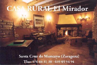 El mirador casa de turismo rural en santa cruz del moncayo el mirador santa cruz de moncayo - Casa rural moncayo ...